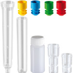 TEST TUBES AND STOPPERS
